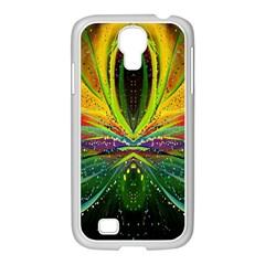 Future Abstract Desktop Wallpaper Samsung Galaxy S4 I9500/ I9505 Case (white)