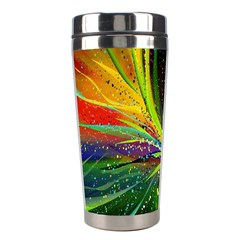 Future Abstract Desktop Wallpaper Stainless Steel Travel Tumblers