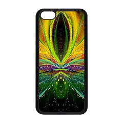 Future Abstract Desktop Wallpaper Apple Iphone 5c Seamless Case (black)