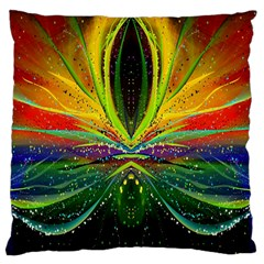 Future Abstract Desktop Wallpaper Standard Flano Cushion Case (two Sides)