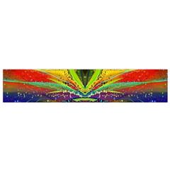Future Abstract Desktop Wallpaper Flano Scarf (Small)