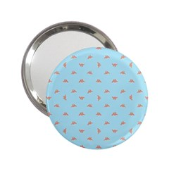 Spaceship Cartoon Pattern Drawing 2.25  Handbag Mirrors