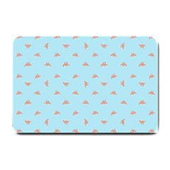 Spaceship Cartoon Pattern Drawing Small Doormat
