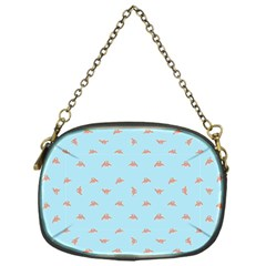 Spaceship Cartoon Pattern Drawing Chain Purses (One Side)