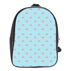 Spaceship Cartoon Pattern Drawing School Bags(Large)