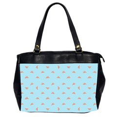 Spaceship Cartoon Pattern Drawing Office Handbags (2 Sides)