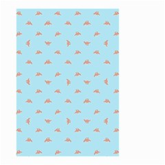 Spaceship Cartoon Pattern Drawing Small Garden Flag (Two Sides)