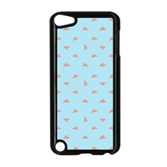 Spaceship Cartoon Pattern Drawing Apple iPod Touch 5 Case (Black)