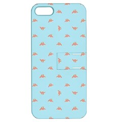 Spaceship Cartoon Pattern Drawing Apple iPhone 5 Hardshell Case with Stand