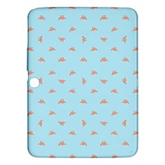 Spaceship Cartoon Pattern Drawing Samsung Galaxy Tab 3 (10.1 ) P5200 Hardshell Case