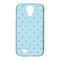 Spaceship Cartoon Pattern Drawing Samsung Galaxy S4 Classic Hardshell Case (PC+Silicone)
