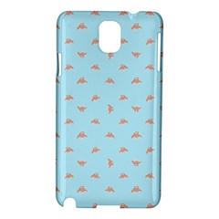 Spaceship Cartoon Pattern Drawing Samsung Galaxy Note 3 N9005 Hardshell Case