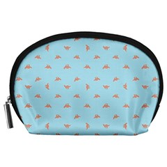 Spaceship Cartoon Pattern Drawing Accessory Pouches (Large)