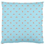 Spaceship Cartoon Pattern Drawing Standard Flano Cushion Case (One Side) Front