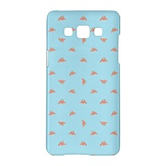 Spaceship Cartoon Pattern Drawing Samsung Galaxy A5 Hardshell Case