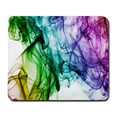 Colour Smoke Rainbow Color Design Large Mousepads