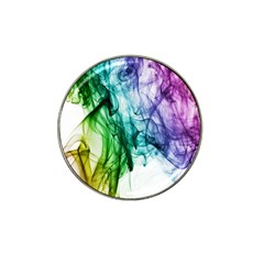 Colour Smoke Rainbow Color Design Hat Clip Ball Marker (10 Pack)
