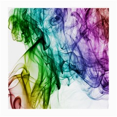 Colour Smoke Rainbow Color Design Medium Glasses Cloth