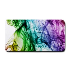 Colour Smoke Rainbow Color Design Medium Bar Mats