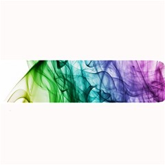Colour Smoke Rainbow Color Design Large Bar Mats