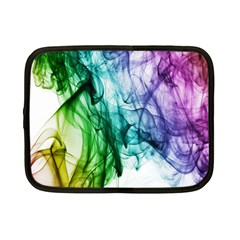 Colour Smoke Rainbow Color Design Netbook Case (small)
