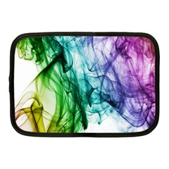 Colour Smoke Rainbow Color Design Netbook Case (medium)