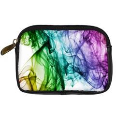 Colour Smoke Rainbow Color Design Digital Camera Cases