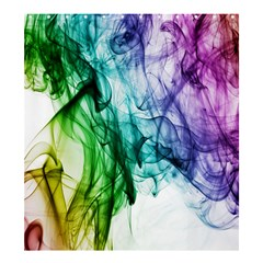 Colour Smoke Rainbow Color Design Shower Curtain 66  X 72  (large)