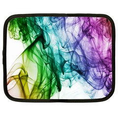 Colour Smoke Rainbow Color Design Netbook Case (XXL)