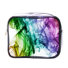 Colour Smoke Rainbow Color Design Mini Toiletries Bags