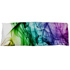 Colour Smoke Rainbow Color Design Body Pillow Case (dakimakura)