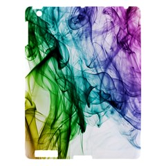 Colour Smoke Rainbow Color Design Apple Ipad 3/4 Hardshell Case