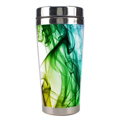 Colour Smoke Rainbow Color Design Stainless Steel Travel Tumblers