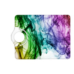 Colour Smoke Rainbow Color Design Kindle Fire Hd (2013) Flip 360 Case