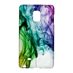 Colour Smoke Rainbow Color Design Galaxy Note Edge