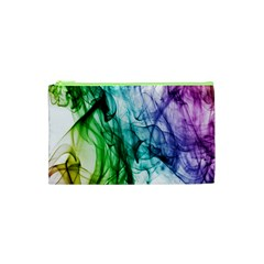 Colour Smoke Rainbow Color Design Cosmetic Bag (XS)