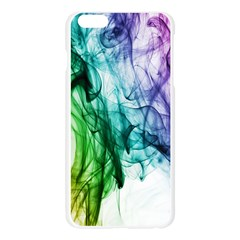 Colour Smoke Rainbow Color Design Apple Seamless iPhone 6 Plus/6S Plus Case (Transparent)