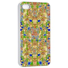 Lizard And A Skull Apple iPhone 4/4s Seamless Case (White)