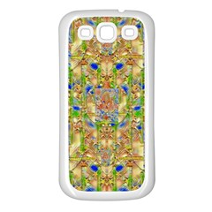 Lizard And A Skull Samsung Galaxy S3 Back Case (White)