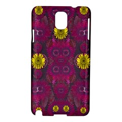Colors And Wonderful Sun  Flowers Samsung Galaxy Note 3 N9005 Hardshell Case