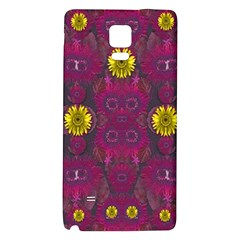Colors And Wonderful Sun  Flowers Galaxy Note 4 Back Case