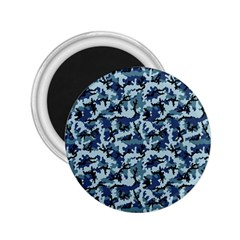 Navy Camouflage 2.25  Magnets