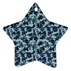 Navy Camouflage Ornament (star)