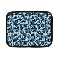 Navy Camouflage Netbook Case (small)