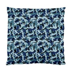 Navy Camouflage Standard Cushion Case (Two Sides)