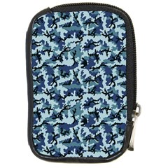 Navy Camouflage Compact Camera Cases