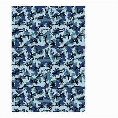 Navy Camouflage Small Garden Flag (two Sides)