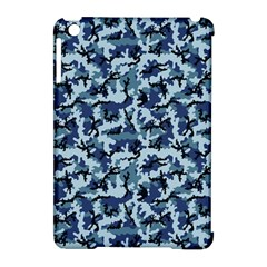 Navy Camouflage Apple iPad Mini Hardshell Case (Compatible with Smart Cover)
