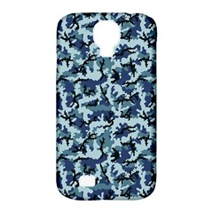 Navy Camouflage Samsung Galaxy S4 Classic Hardshell Case (PC+Silicone)