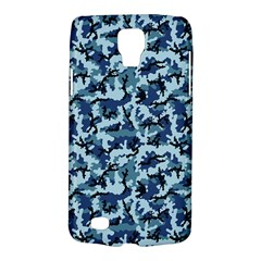 Navy Camouflage Galaxy S4 Active